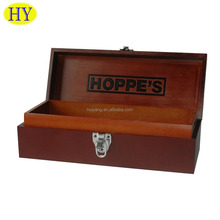Custom Wooden Gift Box With Tray and Divider