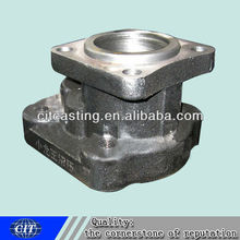 Shaft head carbon resin sand casting CNC machining mining machinery