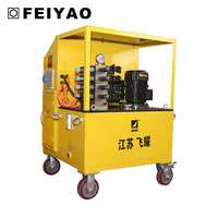hydraulic synchronous lifting jack system electric lift system