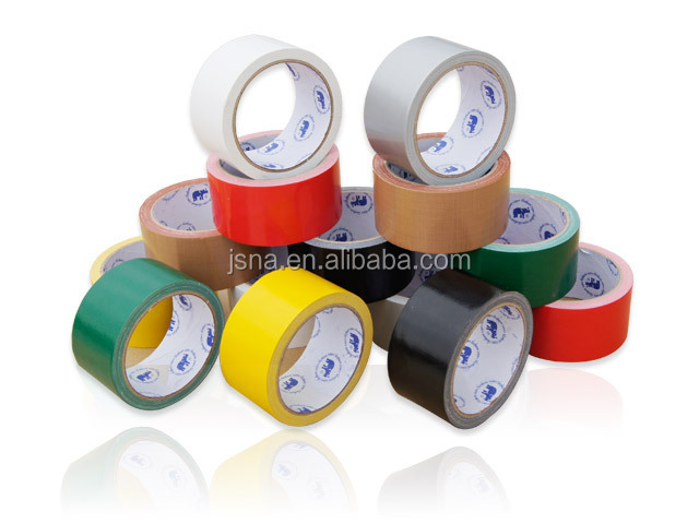 Carton packing waterproof 48 width Red cloth Duct Tape