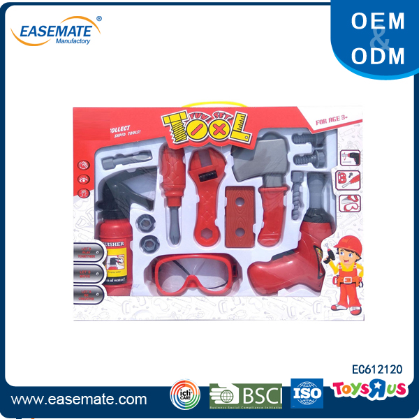 Kids fire rescue tool play set toy for sale