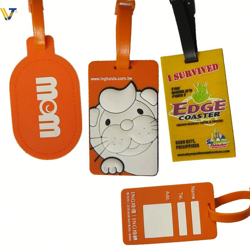2013 New product acrylic luggage tag