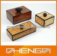 High quality customized made-in-china luxury empty wooden dubai chocolate gift box (ZDS-F178)