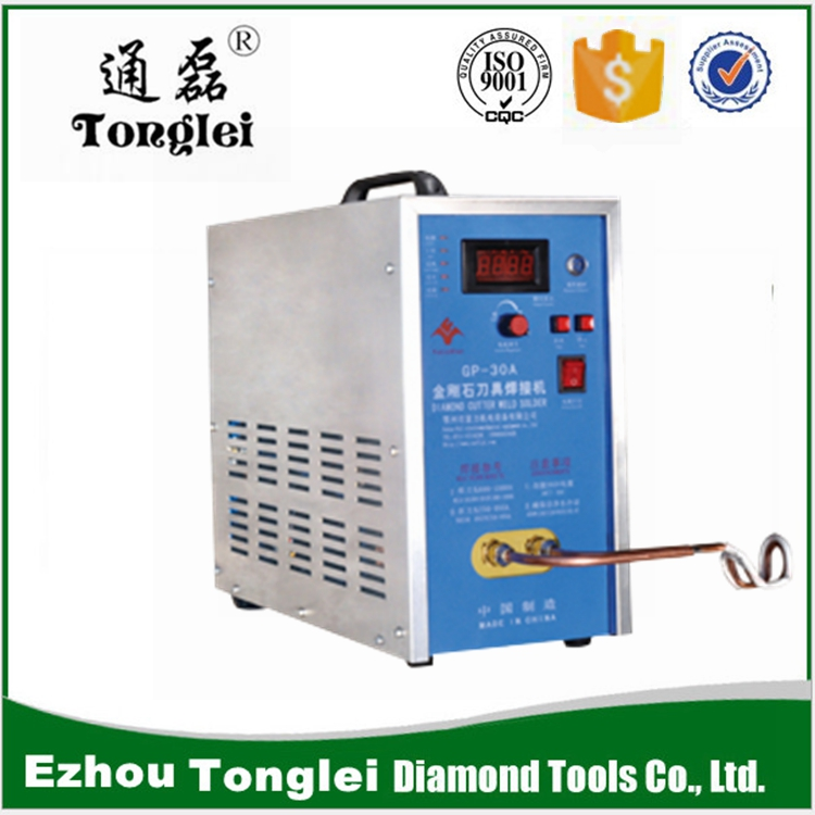 Diamond saw blade welding machine