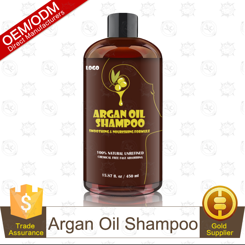 100% Natural & Organic Argan Oil Shampoo for Dry Hair OEM/ODM Professional Supplier
