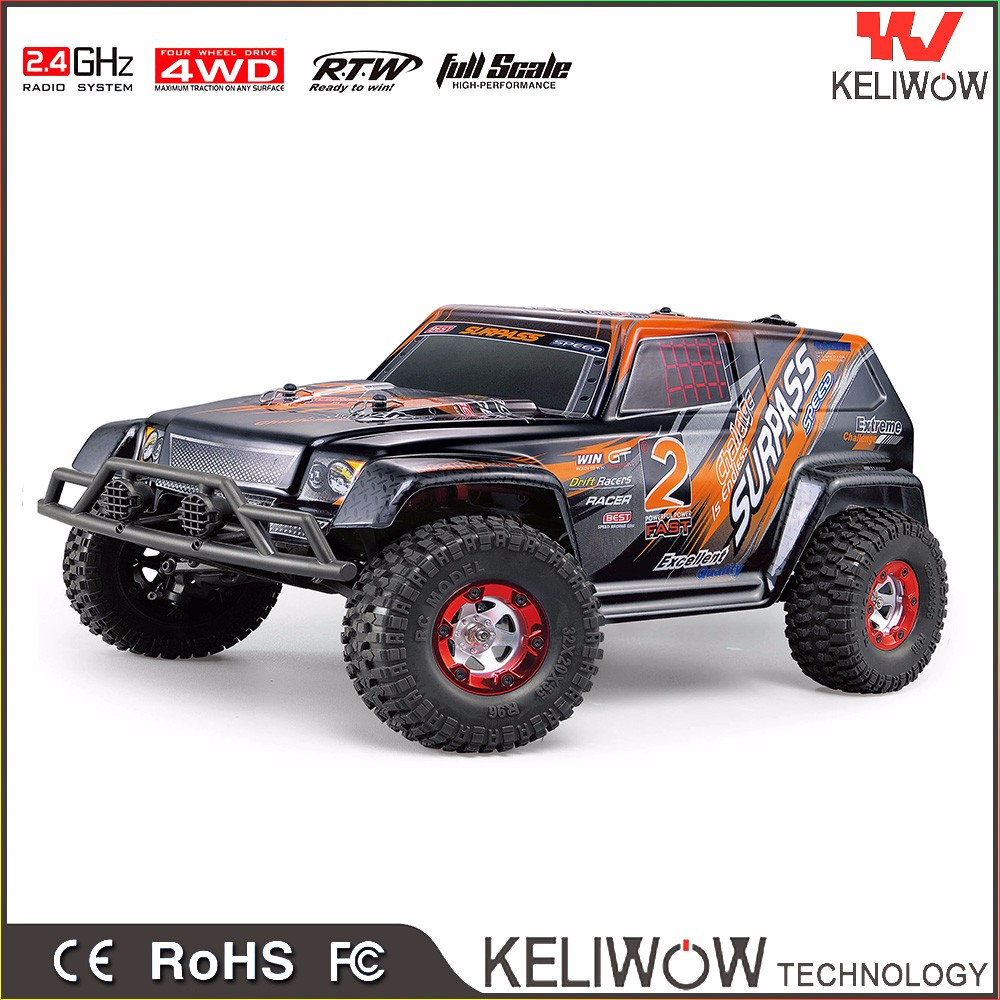 1/10 Remote control rc car model car high speed 4WD electric power rc truck