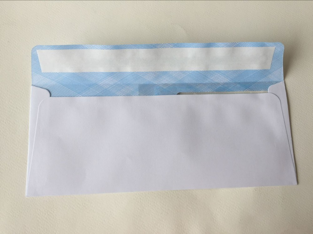 Paper Envelope With Two Window/paper envelope pattern, security double window Envelopes