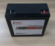 SLA 12v 100ah lifepo4 battery pack for solar power and ups system