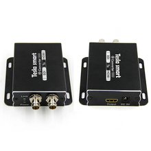 Support SDI Loop Output 100 Meters Transmitter SD/ HD/ SDI to HDMI Converter