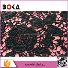 OEM Water Soluble Lace Fabric For Curtain/Bridal