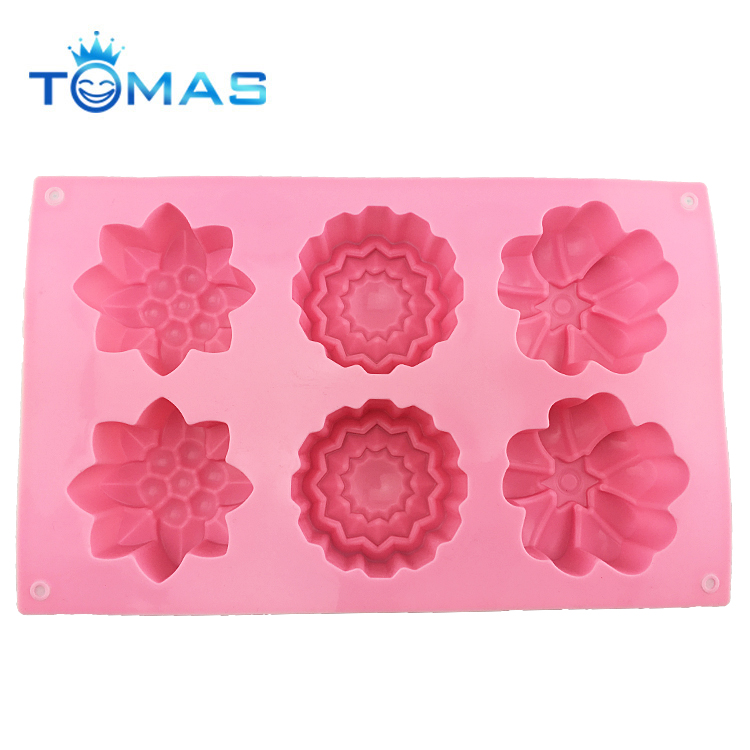 Cheap Soap Cake Maker Different Shape Baking Silicone Molds