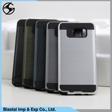 All in one pc tpu hybrid cell phone covers with pupular wiredrawing workmanship hot selling for blu life one x vivo xl