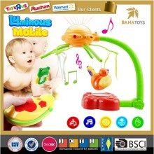 Luminous bed hanging toy baby musical mobile toys