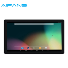 Aipean supply 19 inch Toughened glass all in one Touch android pc Digital signage wifi Advertising player
