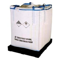 5:1 Safety Factor and UN Feature 1 tonne bulk bags Accept Custom Order super sacks manufacturer and bag