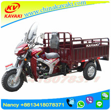 Strong Power Cargo 3 Wheel Tricycle Guangzhou Factory Exported To Africa