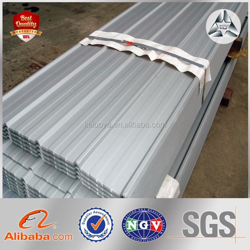 Color Ribbed corrugated metal steel sheet for roofing panel