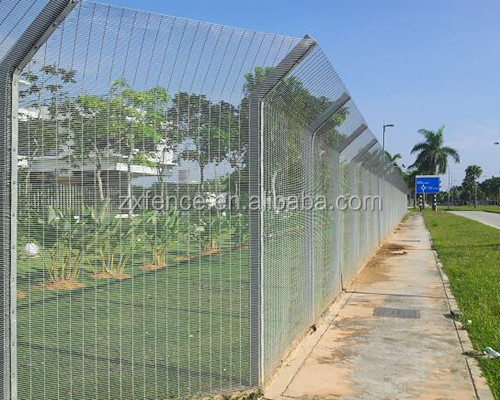 alibaba wrought iron fence fittings /358 high security fence supplier