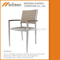 Outdoor Garden Man-Made Wicker Rattan /Cane Garden Dining Set Furniture Plastic Dining Rattan Outdoor Furniture