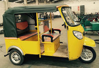 motor drived rickshaw battery operated tricycle