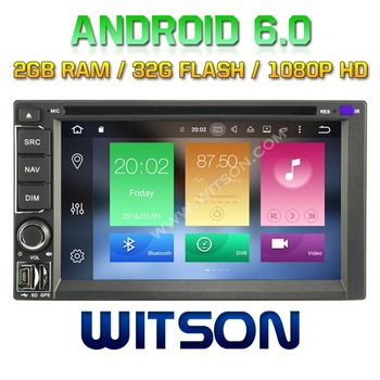 WITSON Octa-Core(Eight Core) Android 6.0 CAR DVD FOR Universal Double Din 2G ROM 1080P TOUCH SCREEN 32GB ROM