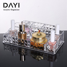 Highly transparent acrylic perfume organizer, perfume cosmetic display case