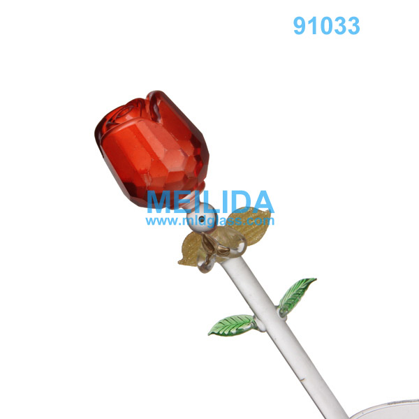 Valentine Glass Rose, Valentine Glass Rose Suppliers And Manufacturers At  Alibaba.com