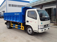 4*2 small garbage dump truck capacity 3 tons LHD and RHD