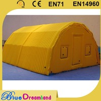 High precision inflatable tent camping for press brake