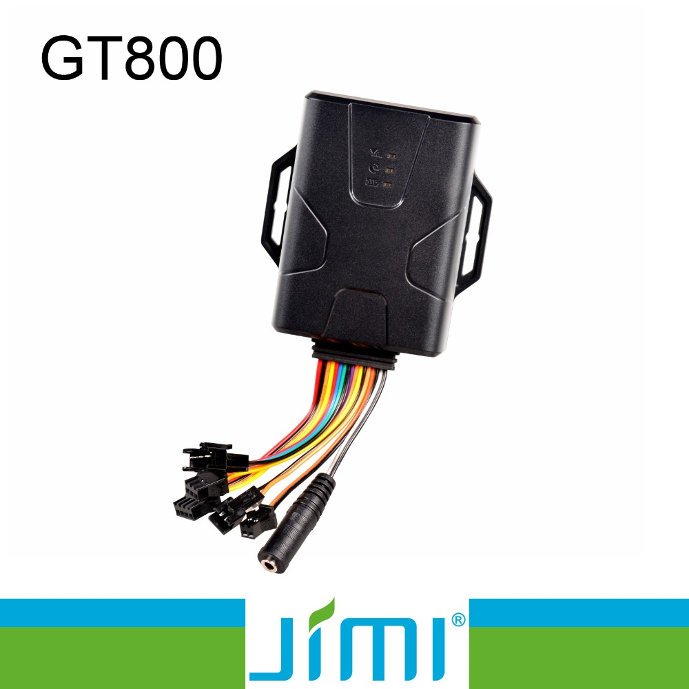 JIMI and Concox New real time tracking unit GT800 for vehicle with vibration alert function