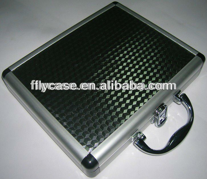 aluminum profile waterproof shell mystic e cigarette case with lock and handle
