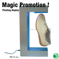 Fashion customized Top magnetic levitation advertising shop display furniture