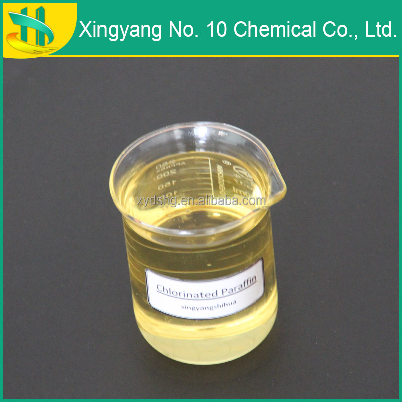 Flame retardant Chlorinated paraffin oil 52 used for fireproof paints.
