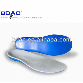 soft pu foam trimable diabetic insoles memory foam shoe insoles