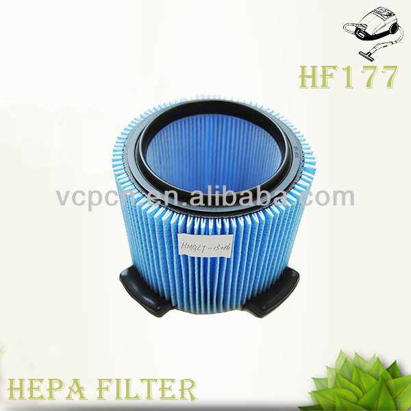 washable PET hepa filter for vacuum cleaner (HF177)