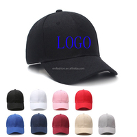 Cheap Customized Design Advertising Promotions Unisex OEM Custom Logo Embroidery Cotton Baseball Cap