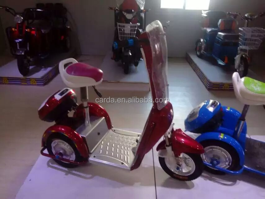 Cheap Three wheel elctric fuel bike for adult made in China