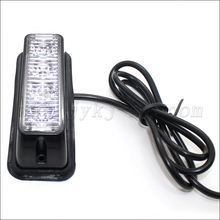 Car 12 Volt 24 Volt amber strobe led lights for sale