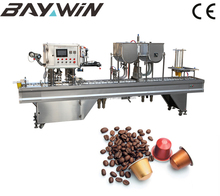 Automatic Nescafe tea coffee K Cup Filling and Packing Machine