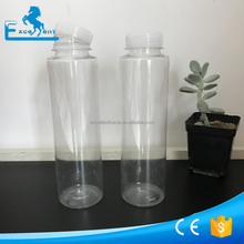 350ml plastic Cylindrical bottle for juice
