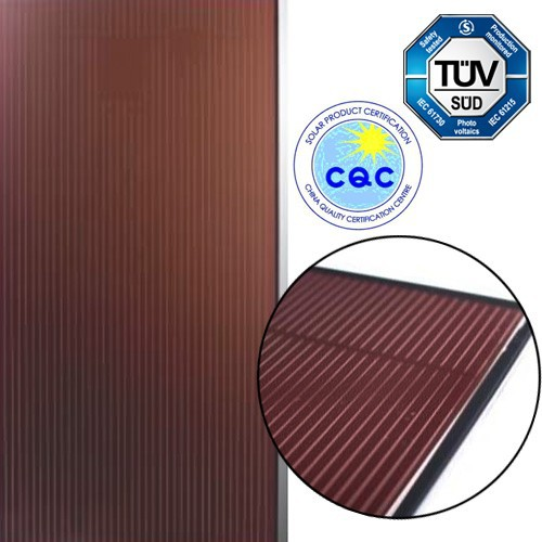 Hanergy Apollo high efficient 51w home solar cell panel korea