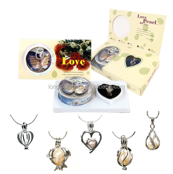 LOVE PEARL GIFT SET-VARY PENDANTS available
