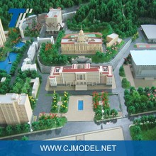 3D miniature school building model for high quality school building projects