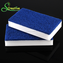 Promotions magic eraser white scourer cleaning sponge scrubber