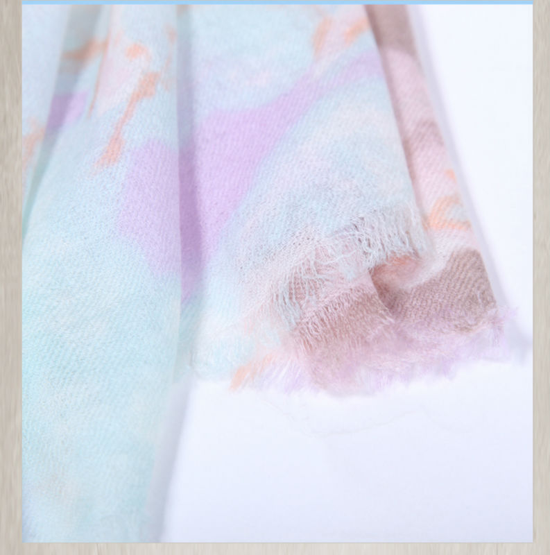 SWC729 Printing Wholesale cashmere scarf