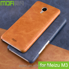 HOT MOFi Case Housing for Meizu M3, Meilan 3, Mobile Phone Coque Back Leather Cover for Meizu M 3