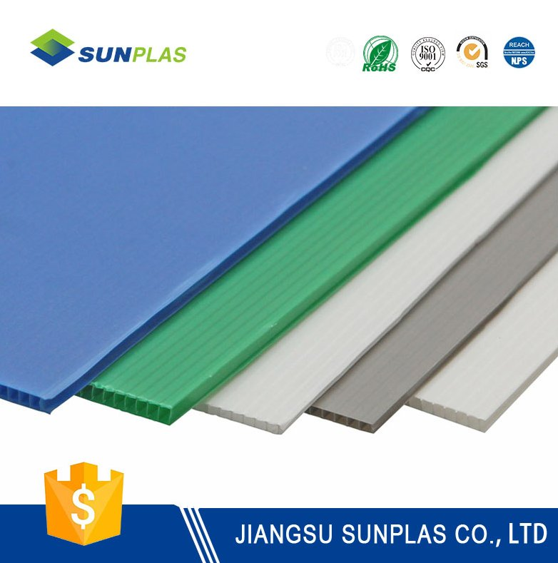 price sheet pp sheet hollow board