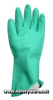 Nitrile Gloves, Chemical Resistant Gloves, Flocklined Nitrile Gloves