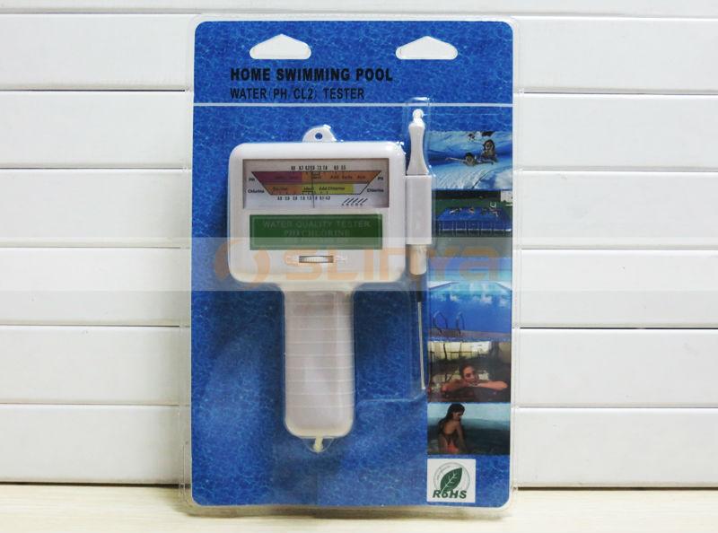 Digital Ph Meter For Swimming Pool Water Ph Cl2 Chlorine
