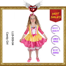 Factory Supply Sweet Girls Dancing Costumes for Toddlers